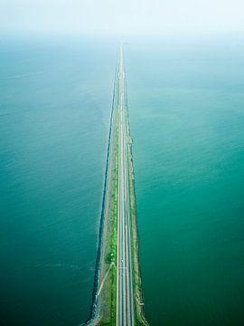 Afsluitdijk von Oscar van Crimpen