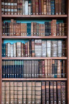 Bibliothèque avec des livres anciens. sur Roman Robroek