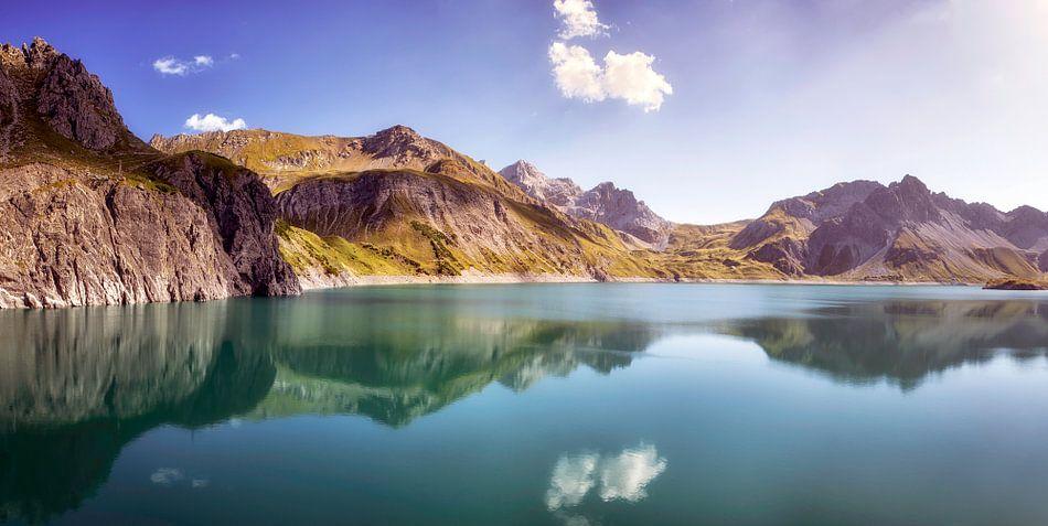 Lünersee, Oostenrijk van Fotografie Egmond