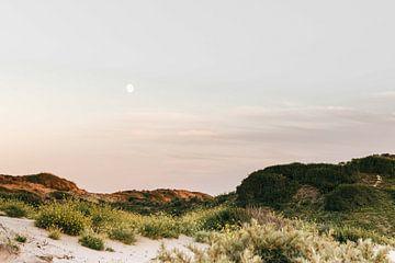 Der Mond in den Kennemer-Dünen von Simone Neeling