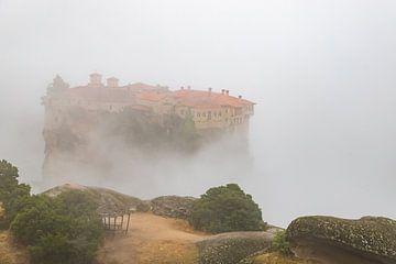 Monastère de Variaam Meteora Grèce sur Elly Damen
