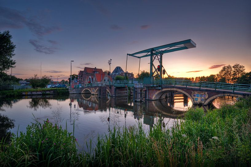 Hoge Brug / 350 jaar / Overschie / Rotterdam von Rob de Voogd / zzapback