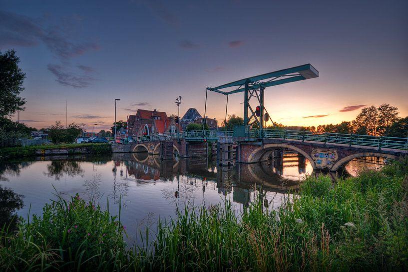 Hoge Brug / 350 jaar / Overschie / Rotterdam van Rob de Voogd / zzapback