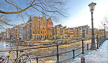 Amsterdam in Winter van