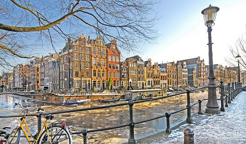 Amsterdam Winter van