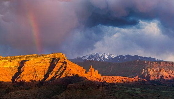 Fisher Towers, Utah van Henk Meijer Photography