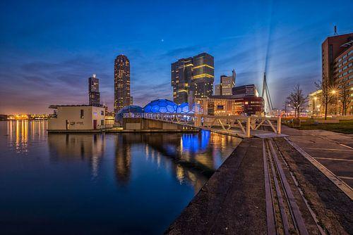 Skyline Rotterdam / Kop van Zuid van