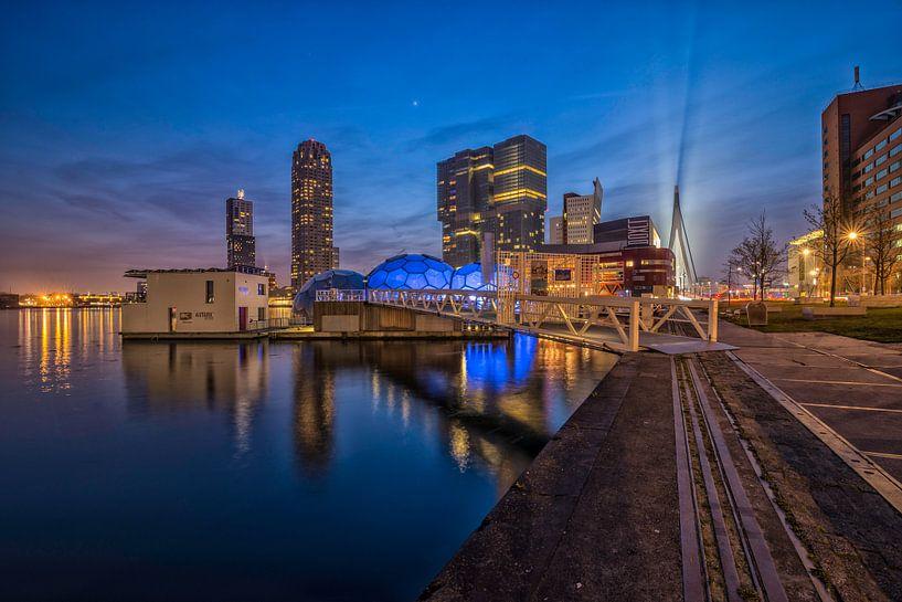 Skyline Rotterdam / Kop van Zuid van Dick van Duijn