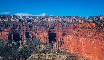 Grand Canyon gezien vanuit de helicopter van