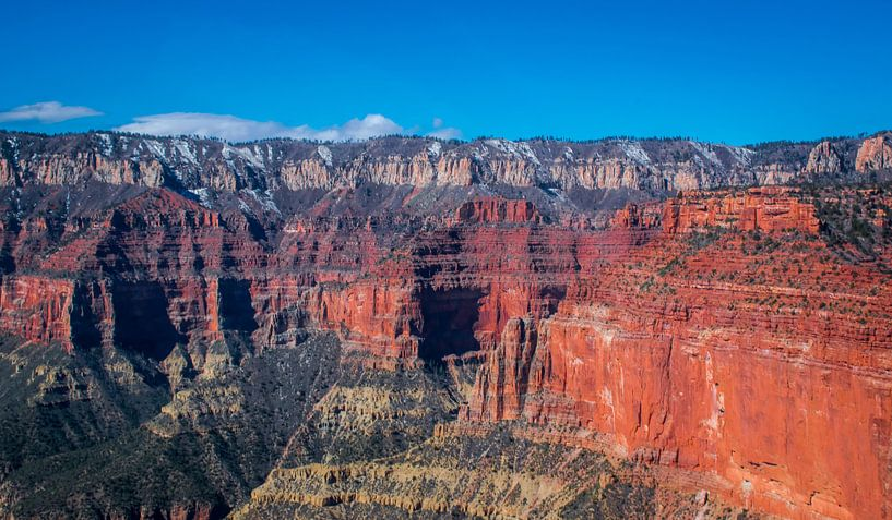 Grand Canyon gezien vanuit de helicopter van Rietje Bulthuis