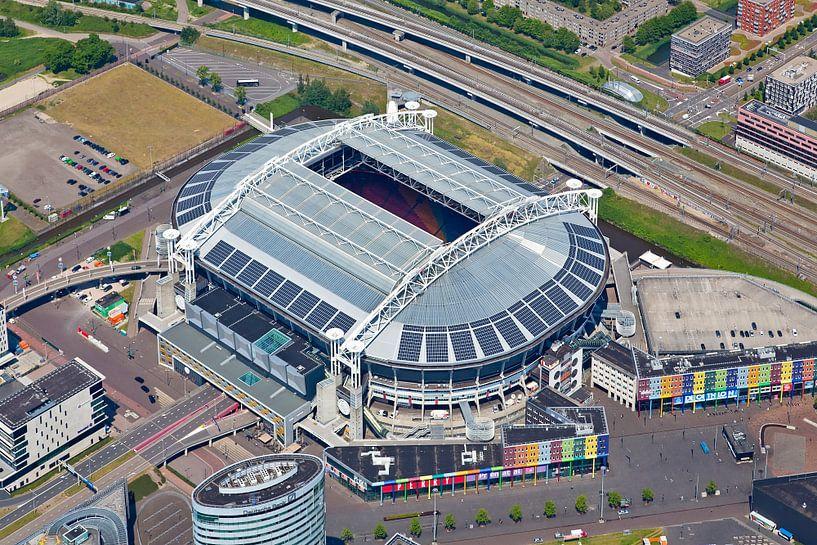 Luchtfoto Amsterdam Arena / Johan Cruijff Arena van Anton de Zeeuw