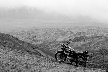 Verlassenes Motorrad von Floris den Ouden