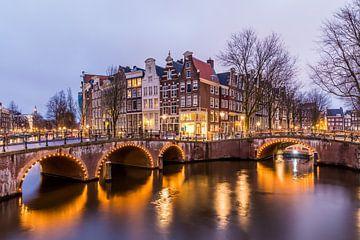 Amsterdam Keizersgracht 562-564 sur Sjoerd Tullenaar