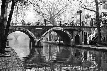 De Hamburgerbrug in Utrecht over de Oudegracht van De Utrechtse Grachten