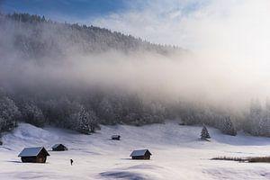 Winter morning in Germany