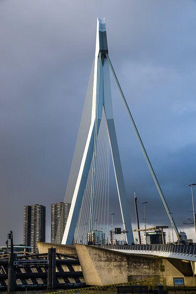 Erasmusbrug Rotterdam van Eriks Photoshop by Erik Heuver