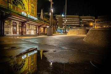 Groningen mirrored van Johan Mooibroek