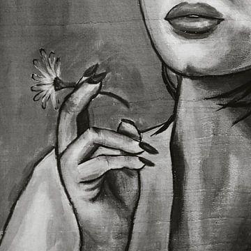 Rauchen von Blumen von Sita Conijn