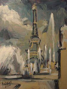 Happy fountains at Trocadéro