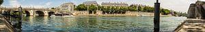 Panorama van de Seine van
