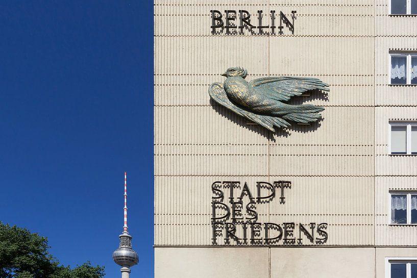 Berlin - Ville de la paix sur Frank Herrmann