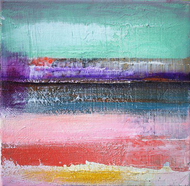 Abstract fields 4 van Atelier Paint-Ing
