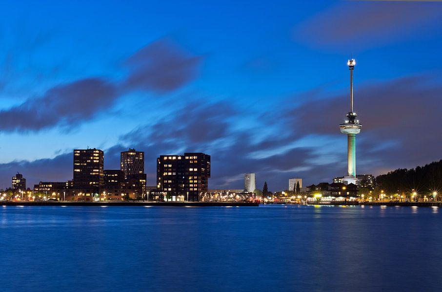 Blue Rotterdam / Euromast / Lloydpier van Rob de Voogd / zzapback