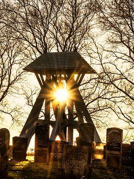 De klokkestoel van Rijs in het Friese Gaasterland van