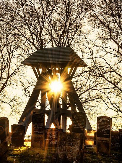 De klokkestoel van Rijs in het Friese Gaasterland van Harrie Muis