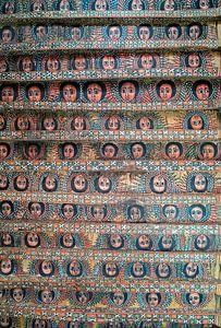 Plafond Selassie kerk