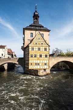 Bischhofsmühlbrücke, Bamberg Deutschland von Joep Deumes