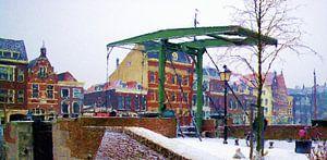 Brug Delfshaven winter 2012