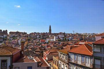 Stadtansicht Porto von Sander Hekkema