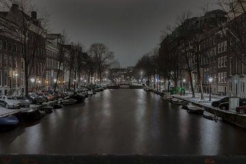 Amsterdamse gracht van Bert Koppe