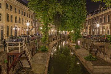 Nieuwegracht in Utrecht in de avond - 6 van Tux Photography