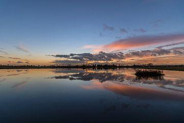 Geestmerambacht zonsondergang van FotovanHenk