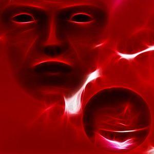 Rood gezicht van Karin Schwarzgruber