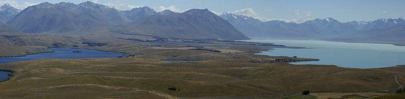 Lake Tekapo - Nieuw Zeeland van Jeroen van Deel