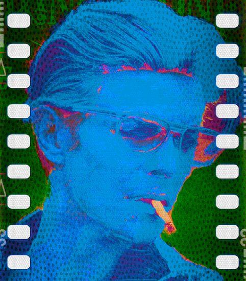 David Bowie Movie Like Pop Art PUR van Felix von Altersheim