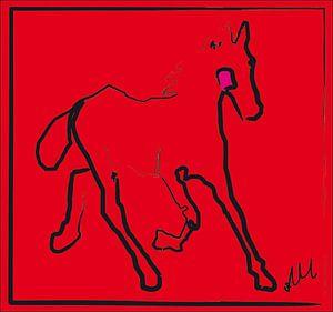Fohlen rotes Stutfohlen