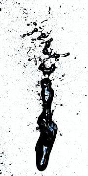 Black L #1 von Rob van Heertum