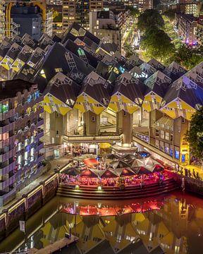 Alte Hafen- und Würfelhäuser in Rotterdam von Annette Roijaards