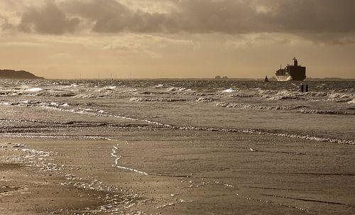 Scheepvaart voor de Zeeuwse kust van MSP Photographics