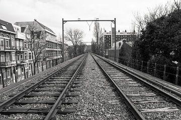 Rotterdam verlaten tramspoor van