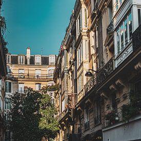 Straat in Parijs van Oscar Limahelu