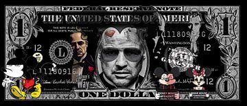 Pate Dollarschein von Rene Ladenius Digital Art