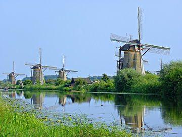 Die Windmühlen von Kinderdijk Holland von Jessica Berendsen