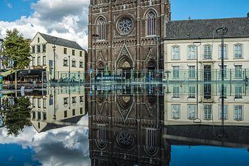 Spiegelbeeld van D'n Tilburgse Heuvel von Freddie de Roeck