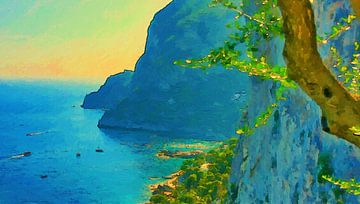 Italien Capri von Schildersatelier van der Ven