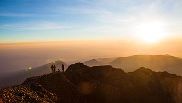 Gunung Rinjani - Lombok Indonesien von Pieter Wolthoorn